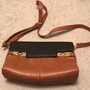 Women's faux leather handbag
